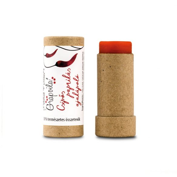 Paprika Seed Oil Lip Balm (slightly hot)
