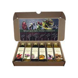 Selection box No1., 6x40 ml cold-pressed oils