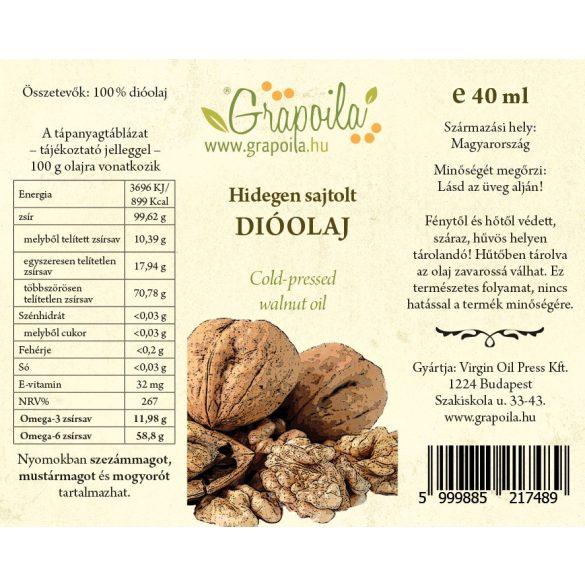 Coffret dégustation / Paprika (pépins de paprika, millepertuis, pépins de raisin, pépins de courge, pavot, huile de noix) 6x40 ml