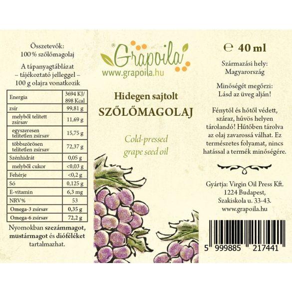 Kóstolódoboz / Paprikás (fűszerpaprikamag-, máriatövismag-, szőlőmag-, tökmag-, mák-, dióolaj) 6x40 ml