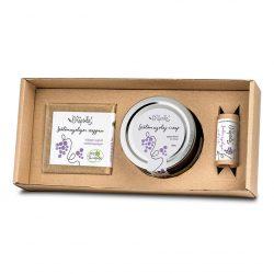 Grapeseed Oil Cosmetic Box (soap, lip balm, mud)