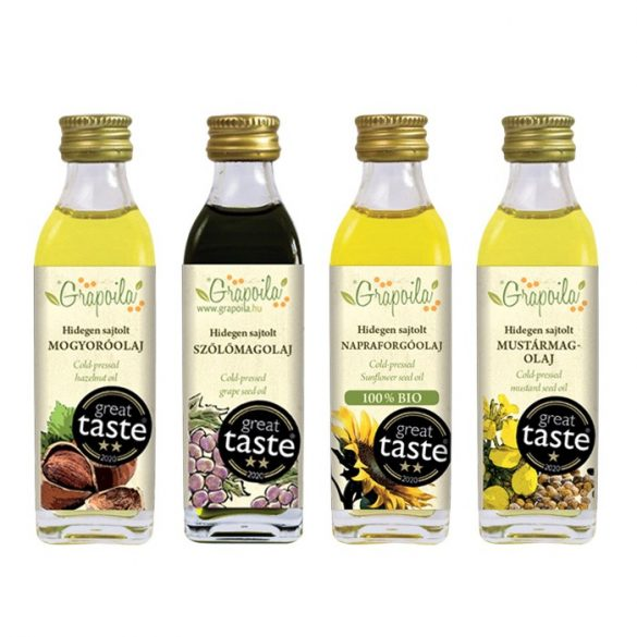 Christmas Crackers gift box - selection of Great Taste winner cold-pressed oils