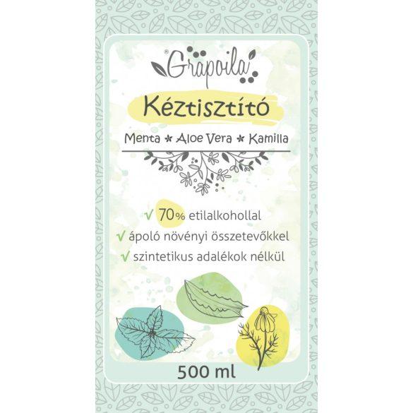 Handreinigungsmittel mit Minze, Aloe vera, Kamille 500 ml