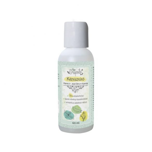 Hand Cleanser spearmint, aloe vera, chamomile 60 ml