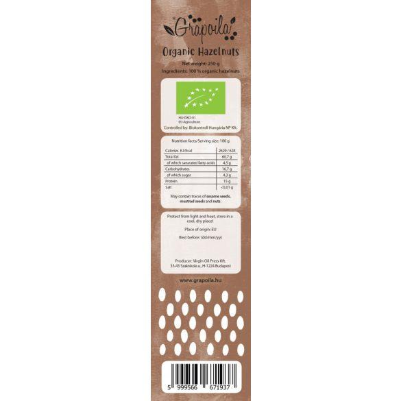 ORGANIC Hazelnuts 250 g