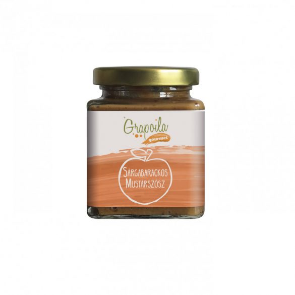 Mustard sauce with apricot 200 g