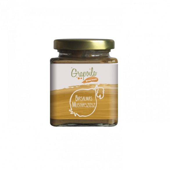 Sauce moutarde aux coings 200 g