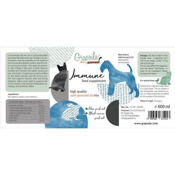 ANIMEAL IMMUNE feed supplement for animals 500 ml