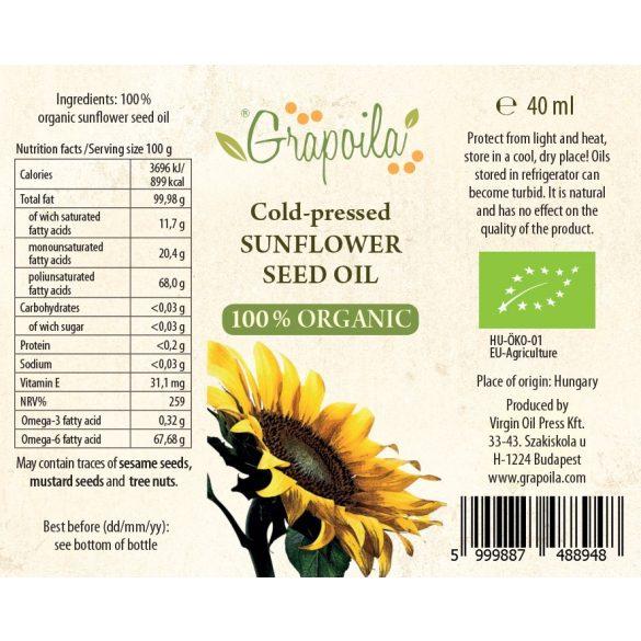 BIO-Sonnenblumenöl 40 ml