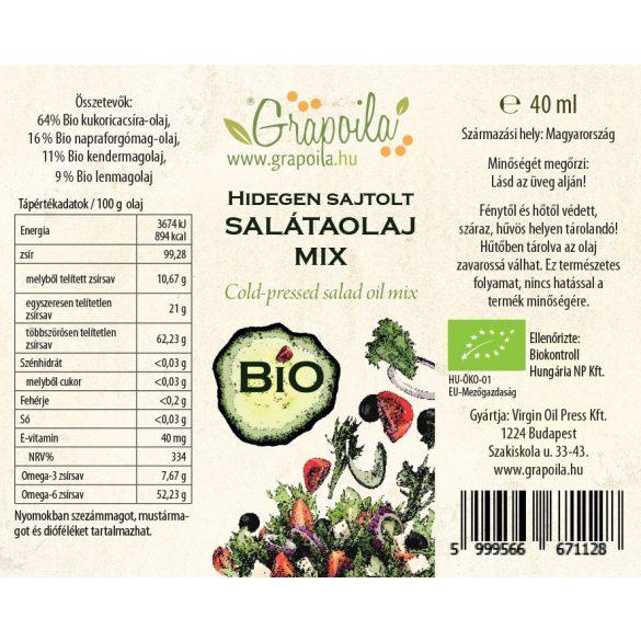 Salátaolaj BIO 40 ml