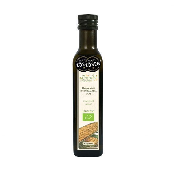 Corn Oil ORGANIC 250 ml