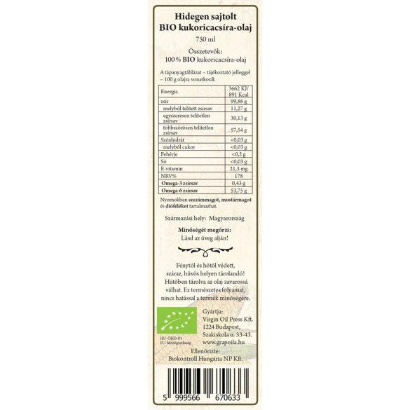 BIO-Maiskeimöl 750 ml