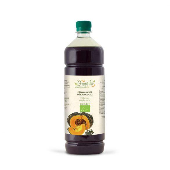 Pumpkin seed oil BIO 1000 ml from unshelled pumpkin seed