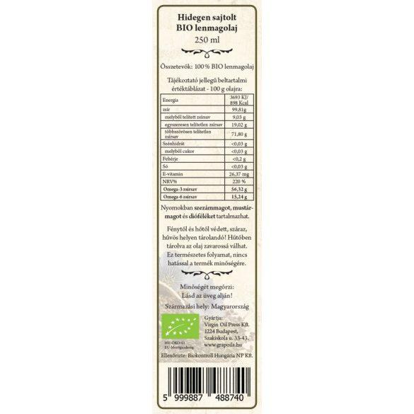 BIO-Leinsamenöl 250 ml