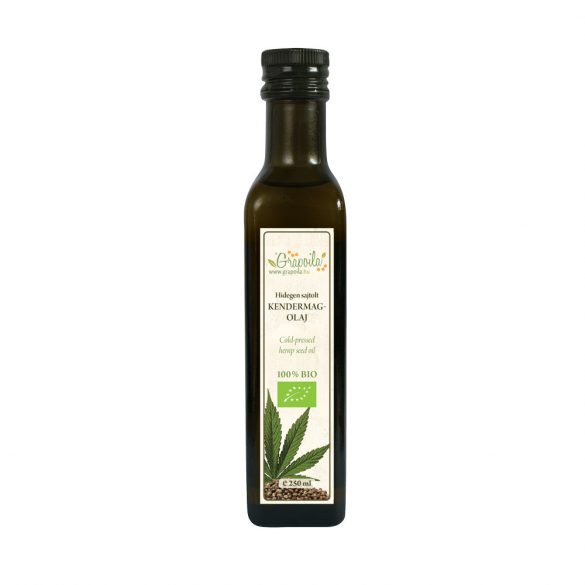Hemp Seed Oil ORGANIC 250 ml