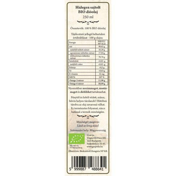 BIO-Walnussöl 250 ml