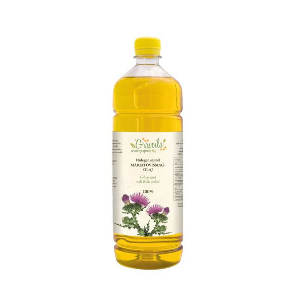Milk thistle seed oil 1000 ml PET
