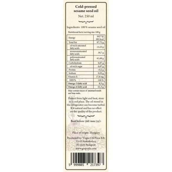 Grapeseed Oil 250 ml