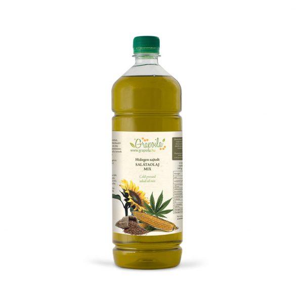 Salátaolaj 1000 ml PET + ajándék olajszórófej