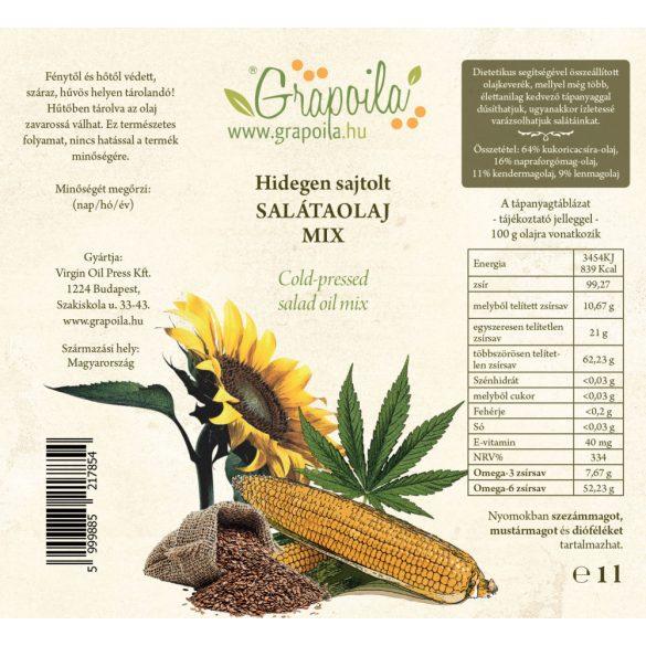 Salatöl 1000 ml PET + eine kostenlose Spritzdüse für Öl