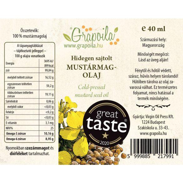 Mustármagolaj 40 ml