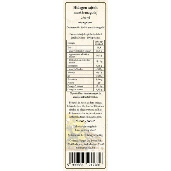 Mustard seed oil 250 ml