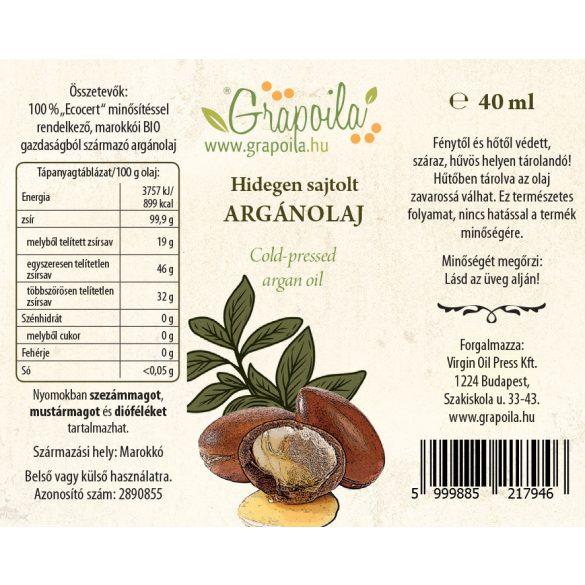 Huile d'argan 40 ml