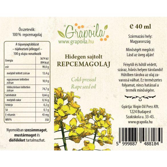 Huile de colza 40 ml