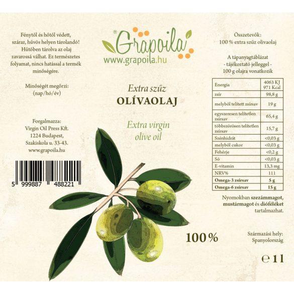 Olívaolaj extra szűz 1000 ml