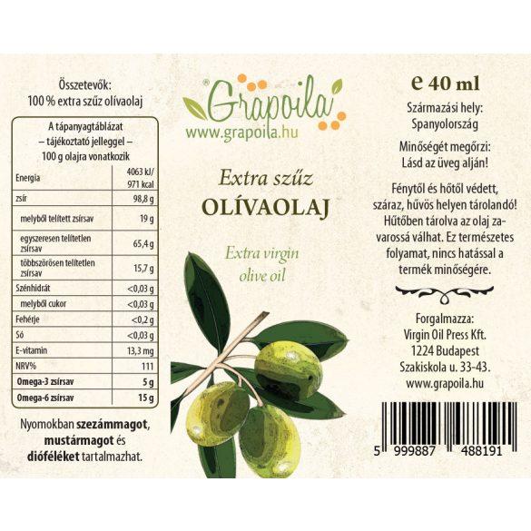 Olive oil extra virgin 40 ml