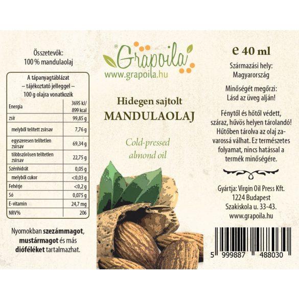Mandulaolaj 40 ml