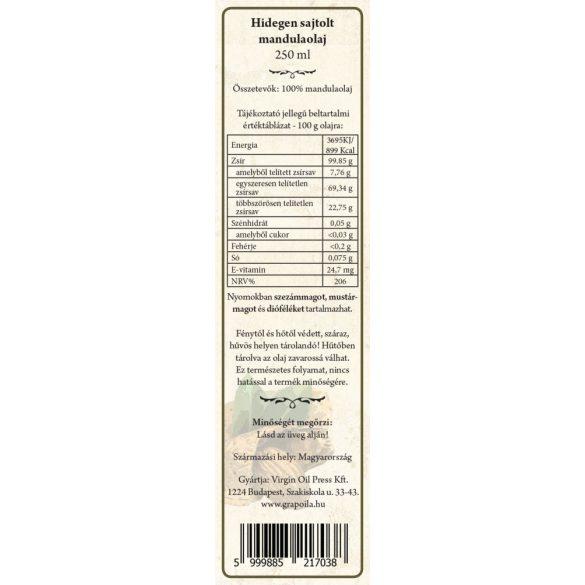 Almond oil 250 ml
