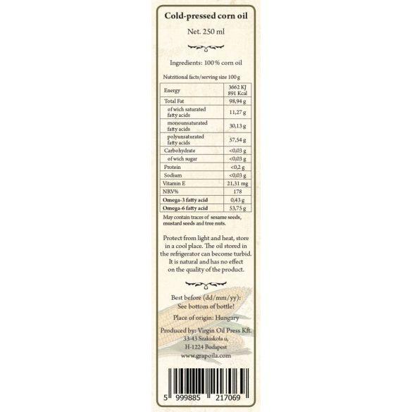 Maiskeimöl 250 ml