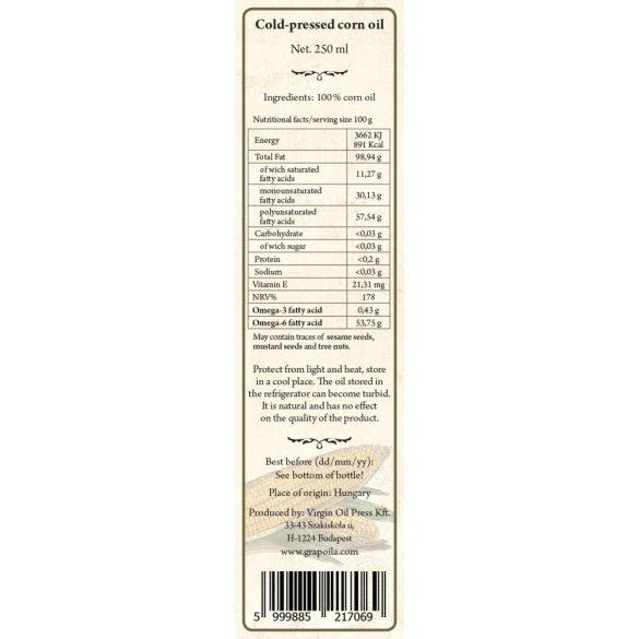 Corn Oil 250 ml