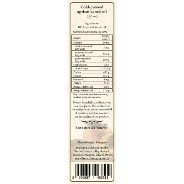 Sárgabarackmag-olaj 250 ml