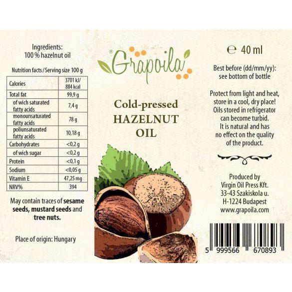 Törökmogyoró-olaj 40 ml