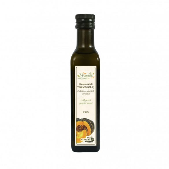 Pumpkin seed oil 250 ml from unshelled pumpkin seeds