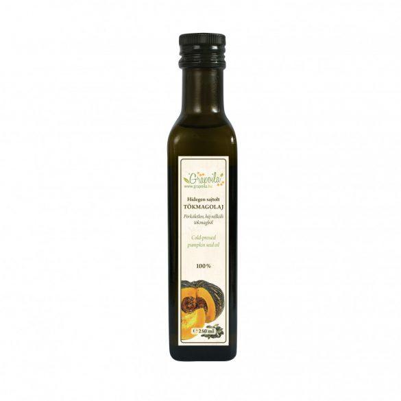 Tökmagolaj (héj nélkül sajtolt) 250 ml