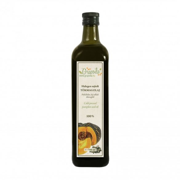 Pumpkin seed oil 750 ml from unshelled pumpkin seeds
