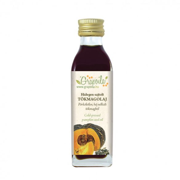 Pumpkin seed oil 40 ml PET from unshelled pumpkin seeds