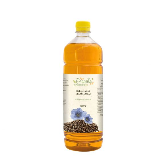Lenmagolaj 1000 ml PET
