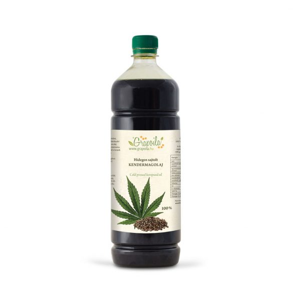 Hemp seed oil 1000 ml PET