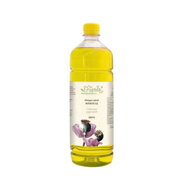 Poppy seed oil 1000 ml PET
