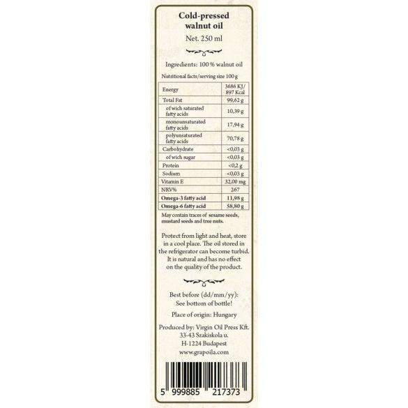 Walnussöl 250 ml