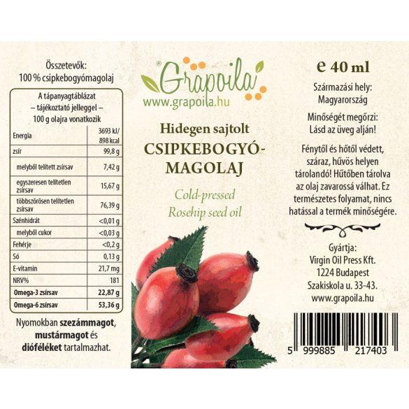 Rosehip seed oil 40 ml