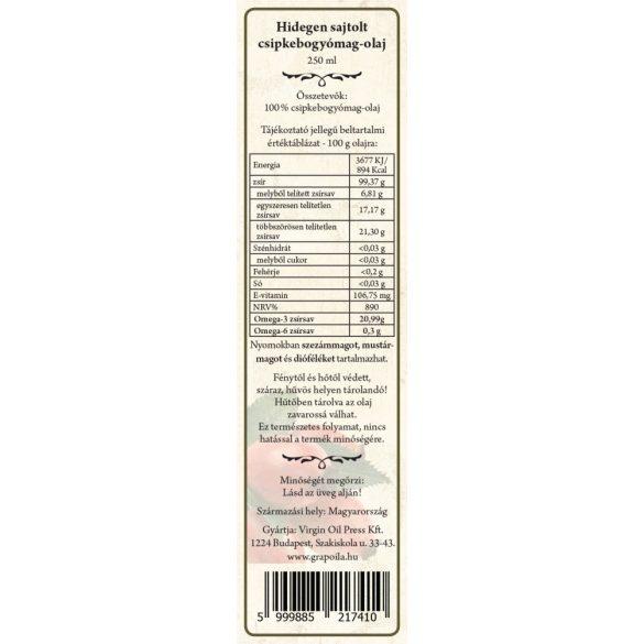 Hagebuttenkernöl 250 ml