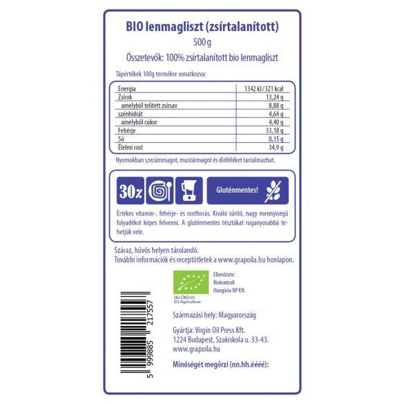 Leinsamenmehl BIO 500 g