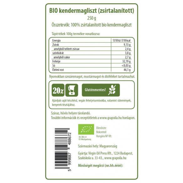 Kendermagliszt BIO 250 g