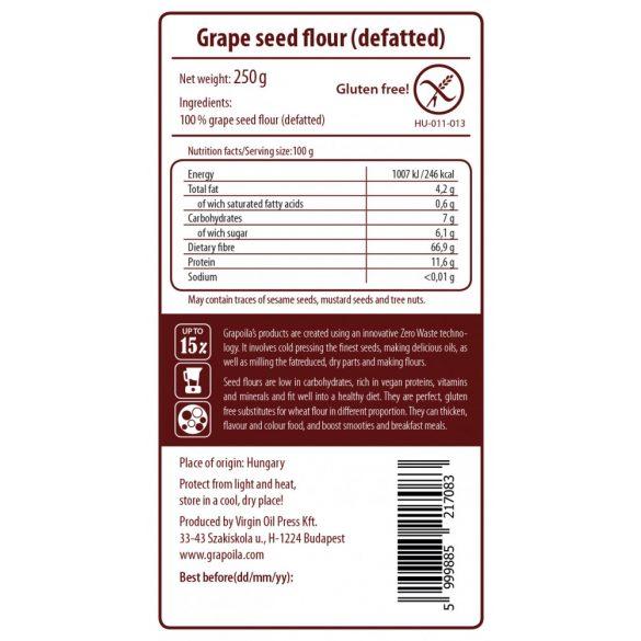 Grape seed flour 250 g