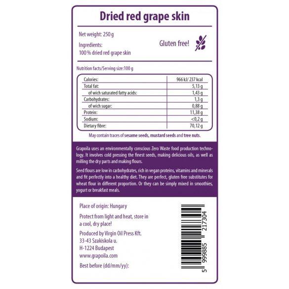Vörös szárított szőlőhéj 250 g